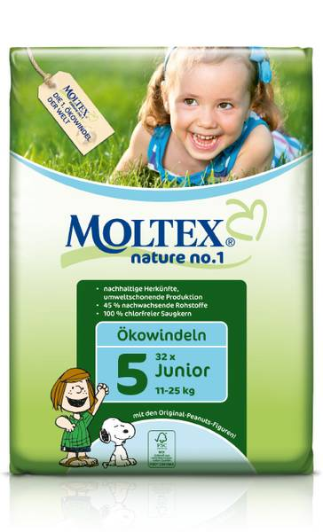 MOLTEX ekoplienky Junior 11-25kg