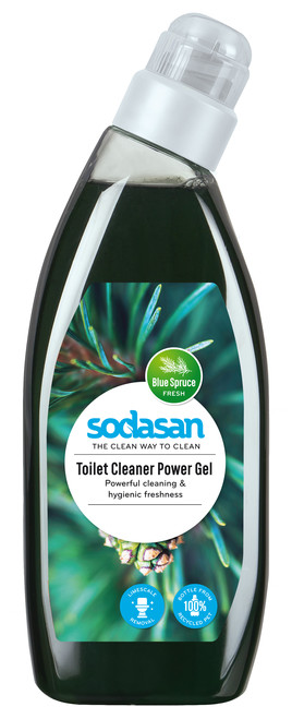 ČISTIČ NA WC POWER GEL 750ML Sodasan