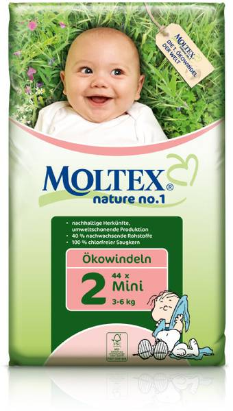 MOLTEX ekoplienky Mini 3-6kg