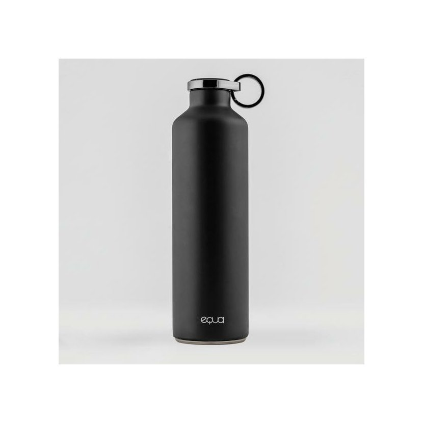 Fľaša EQUA BASIC Dark Grey, 680 ml